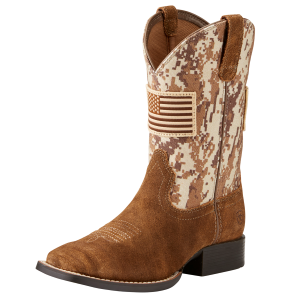 Kids'  Patriot Western Boot