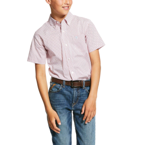 Boys'  Nemano Print Short Sleeve Shirt