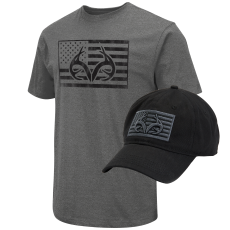 Men's  Realtree Americana Tee and Cap Bundle image
