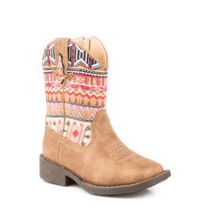 Girls'  Toddler Azteca Western Boot