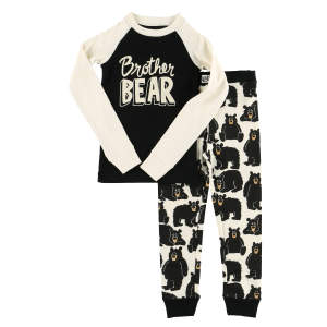 Boys'  Brother Bear Long Sleeve PJ Set