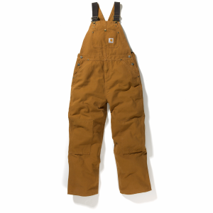 Boys'  Washed Duck Bib Overall