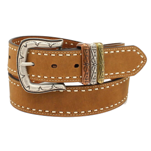 Women's  Laced Edge Leather Belt