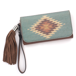 Women's  Zapotec Flap Wallet