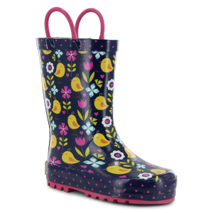 Girls'  Chick Floral Rain Boot