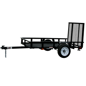 5 x 8 Mesh Floor Trailer with Ramp Gate