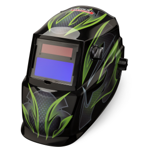 Galaxis Graphic Auto Darkening Welding Helmet