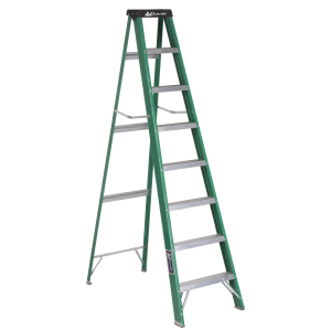 8 ft Fiberglass Standard Step Ladder Type II