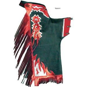 """Bullrider"" Custom Pro Rodeo Chaps- Assorted Styles/Colors"